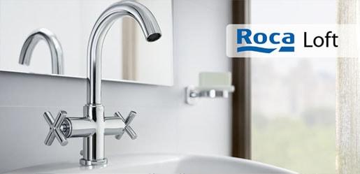 Roca loft - El diseño vanguardista y la tecnología se funden en elementos de gran resistencia y calidad.